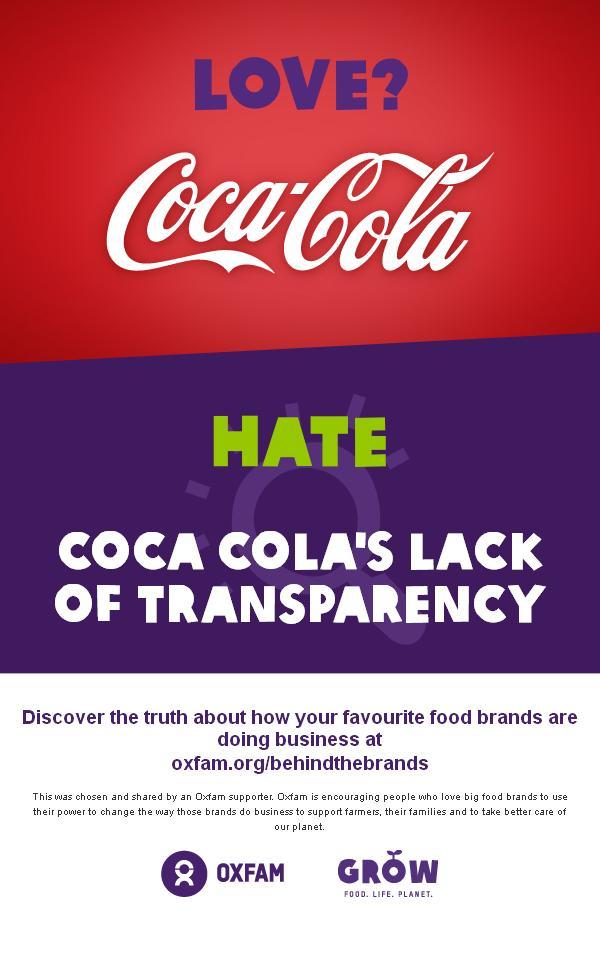 Coca Cola | Behind the brands